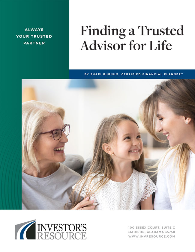 Finding a Trusted Advisor for Life